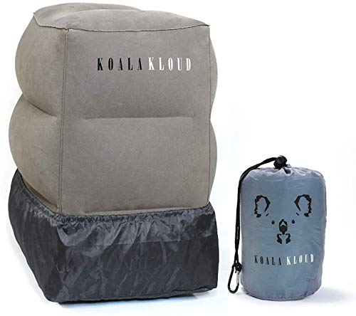 Koala Kloud Inflatable Foot Rest Airplane Footrest