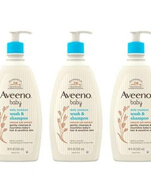 Aveeno Baby Daily Moisture Gentle Bath Wash Natural Oat Extract