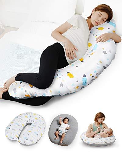 Unilove Pregnancy Pillow - Hopo 7-in-1 Full Body Maternity