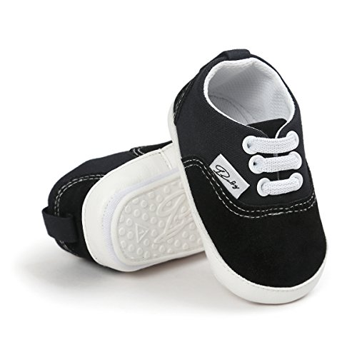RVROVIC Baby Boys Girls Shoes Canvas Toddler Sneakers