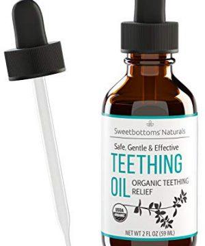 Certified Organic Teething Oil - Ease Teething Discomfort