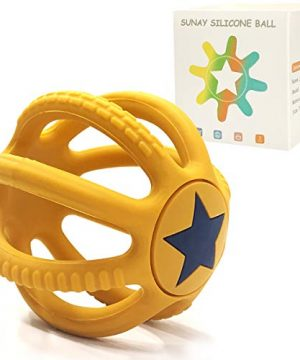 Baby Teething Toys for Babies, Silicone Baby Teether