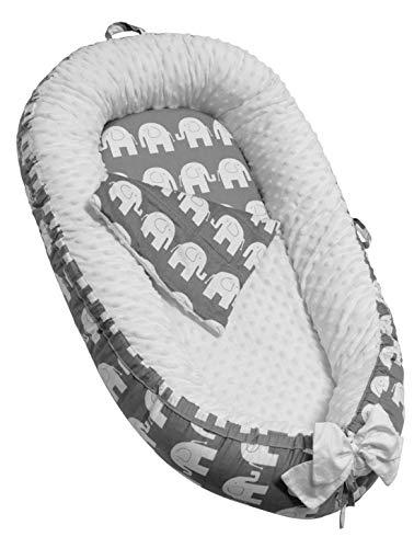 Asunflower Baby Nest Lounger Newborn Bed Insert for Nursery Crib