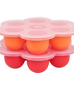 Baby Silicone Food Container with Thick Lid