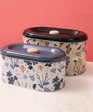 Tin Cookie Snack Jars Biscuit Storage Tin Canister Cookie Jar