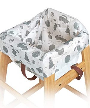 10 Single-Wrapped Durable impervious Restaurant highchair