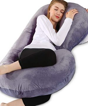 Chilling Home Pregnancy Pillow, 53 inches Full Body Pillow