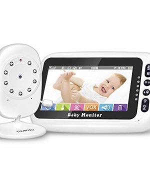 Tovendor Baby Monitor, 4.3'' HD Display Video Large Screen