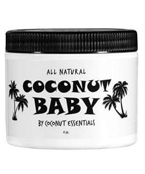 Hair and Skin Coconut Baby Oil Organic Moisturizer
