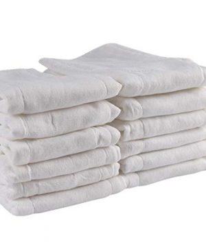 Prefold Cloth Diapers - 100% Unbleached Premium Cotton