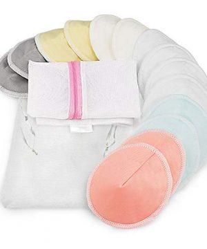 BabyBliss Organic Bamboo Nursing Breast Pads