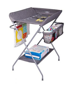Baby Diaper Changing Table with Rack