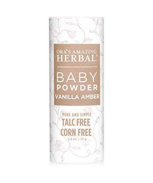 Baby Powder, Talc Free Baby Powder, Natural Vanilla Amber