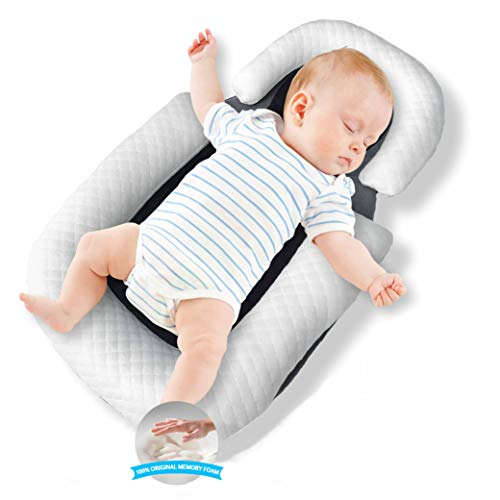 Baby Nest Original Baby Lounger Baby Pillow Portable Bassinet Baby