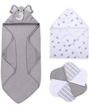 8-Piece Baby Bath Towel for Boys or Girls, Baby Towel