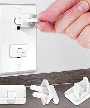 Baby Proofing Outlet Covers with Hidden Pull Handle