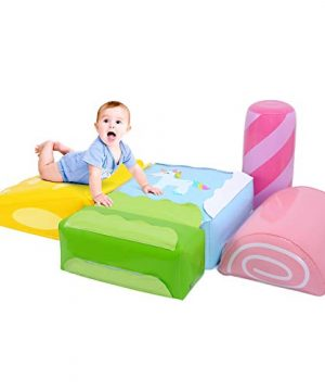 5 Pieces Inflatable Climbing Blocks for Toddlers