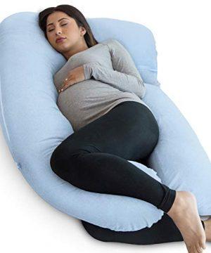 PharMeDoc Pregnancy Pillow, U-Shape Full Body Pillow