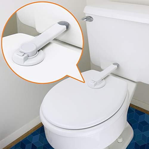 Toilet Lock Child Safety - Ideal Baby Proof Toilet Seat Lock