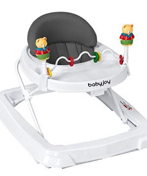 BABY JOY Baby Walker, Foldable Activity Walker Helper