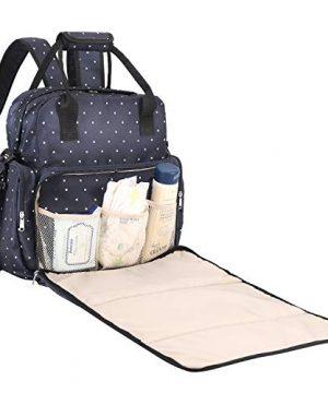Baby Diaper Bag, SAWNZC Large Travel Backpack