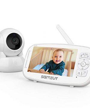 "Baby Monitor, Samzuy 1080P 5"" HD Video Baby Monitor"