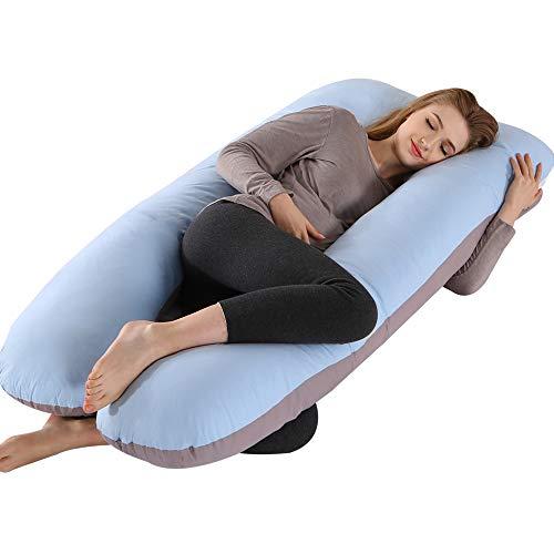 ELNIDO QUEEN Pregnancy Body Pillows with Cotton Cover