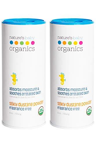 Organic Baby Powder Hypoallergenic Talc