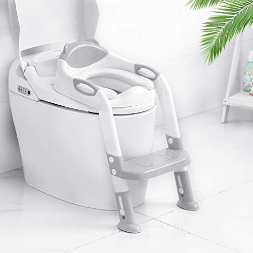 Victostar Potty Training Seat with Step Stool Ladder