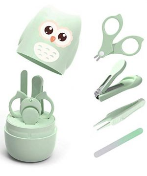 4-in-1 Baby Nail Care Set with Cute Case