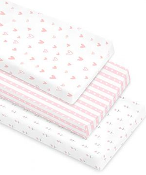 Cambria Baby 100% Organic Cotton Changing Pad Covers
