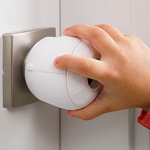 Child Safety Door Knob Cover (4 Pack) Hard-to-Remove