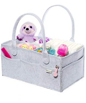 Baby Diaper Caddy Organizer by Family Top Choice