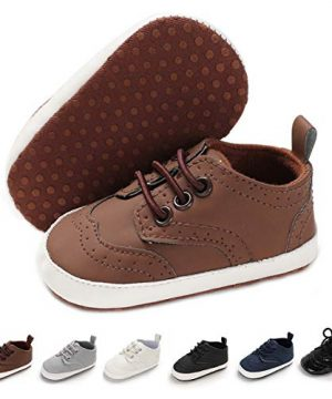 BENHERO Baby Boys Girls Oxford Shoes Soft