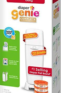 Diaper Genie Playtex Complete Diaper Pail, with Built-in Odor