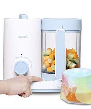 Papablic All-in-1 Baby Food Maker - Steam Cooker, Blender