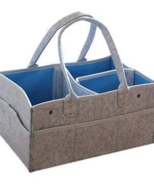 Baby Diaper Caddy, Organizer Nursery Storage Bin Car Organizer