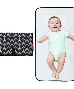 Baby Portable Changing Pad, Large Waterproof Diaper Changing Mat