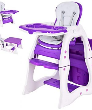 Baby High Chair 3 in 1 Infant Table and Chair Set