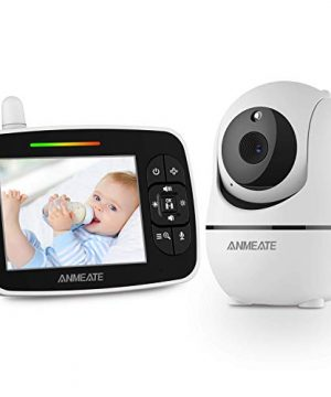 Baby Monitor with Remote Pan-Tilt-Zoom Camera