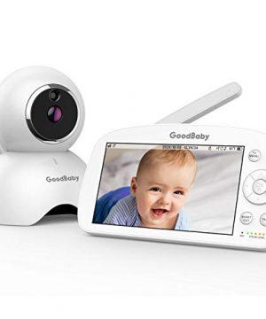 """GOODBABY Real 1080P 5.5"""" HD Display Video Baby Monitor"""