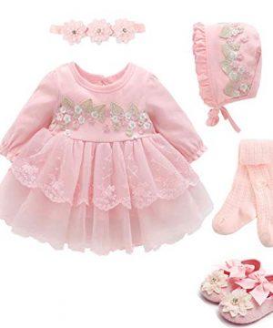 Baby Girls Princess Dress 1st Birthday Dress