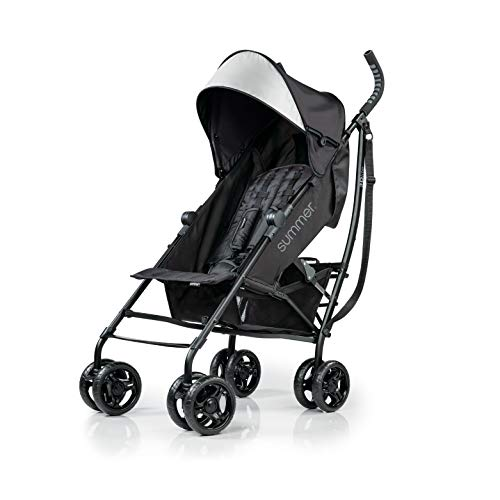 Infant Stroller for Travel 4 Position Recline, Extra Large Storage Basket