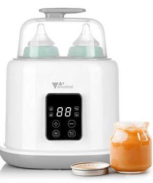 Amzdeal 6 in 1 Baby Bottle Warmer