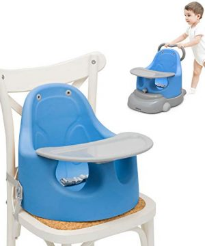 BABY JOY 6-in-1 Booster Seat with Removable Tray