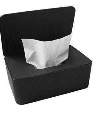 Dustproof Tissue Storage Box Case Wet Wipes Dispenser