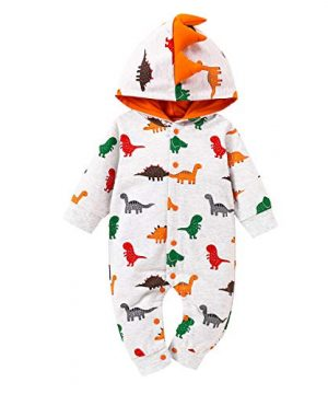 Baby Boy Clothes,Infant Boy Romper Hooded Clothes