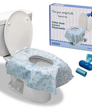 Toilet Seat Covers Disposable - Soft, Extra Large