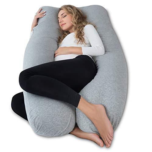 AngQi Full Pregnancy Pillow - Maternity Body Pillow for Pregnant Women