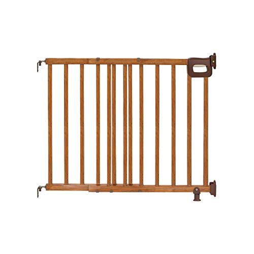 Summer Deluxe Stairway Simple to Secure Wood Gate